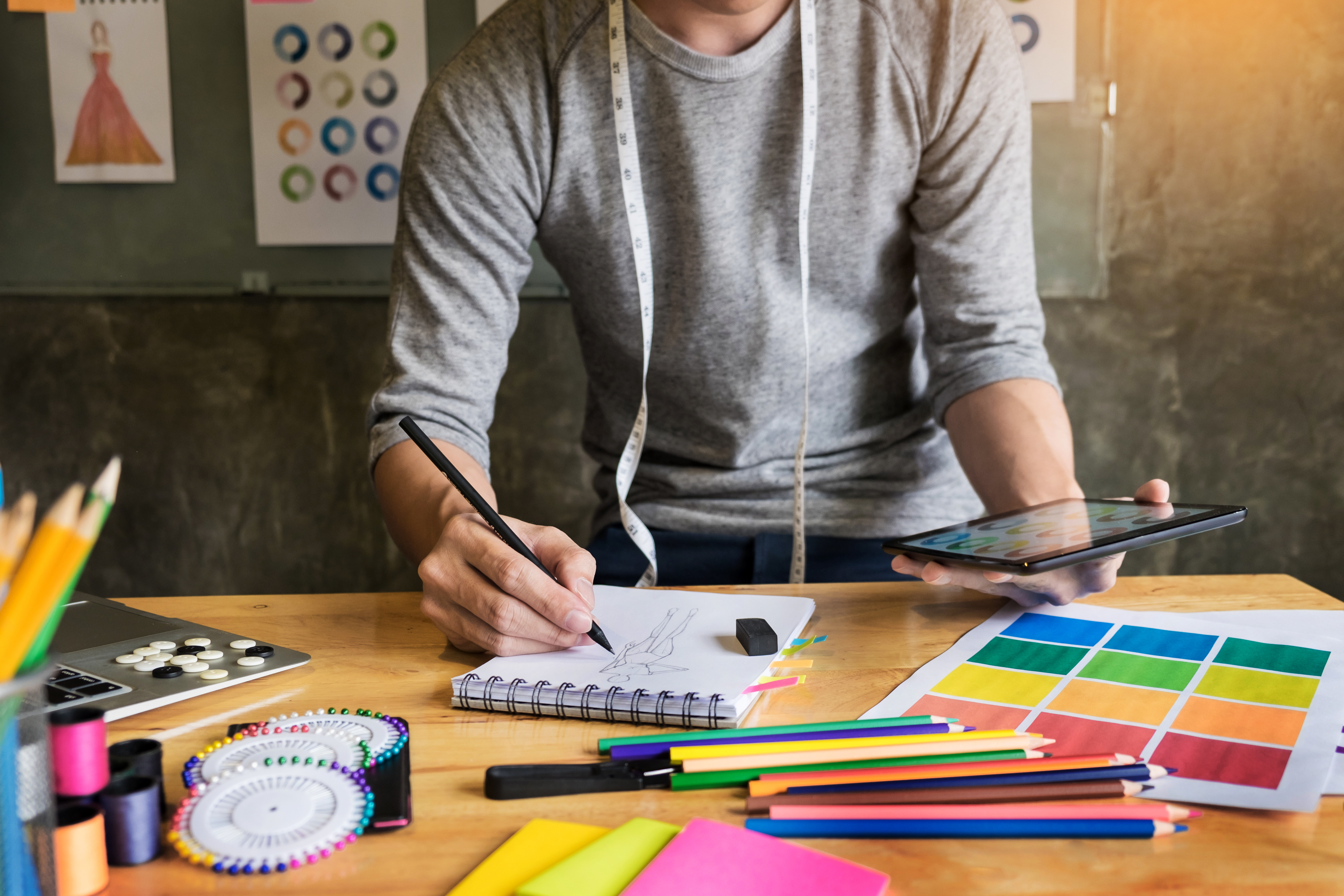 What should I include in my fashion design portfolio? The Ultimate Guide to Being a Freelance Fashion Designer by Sew Heidi
