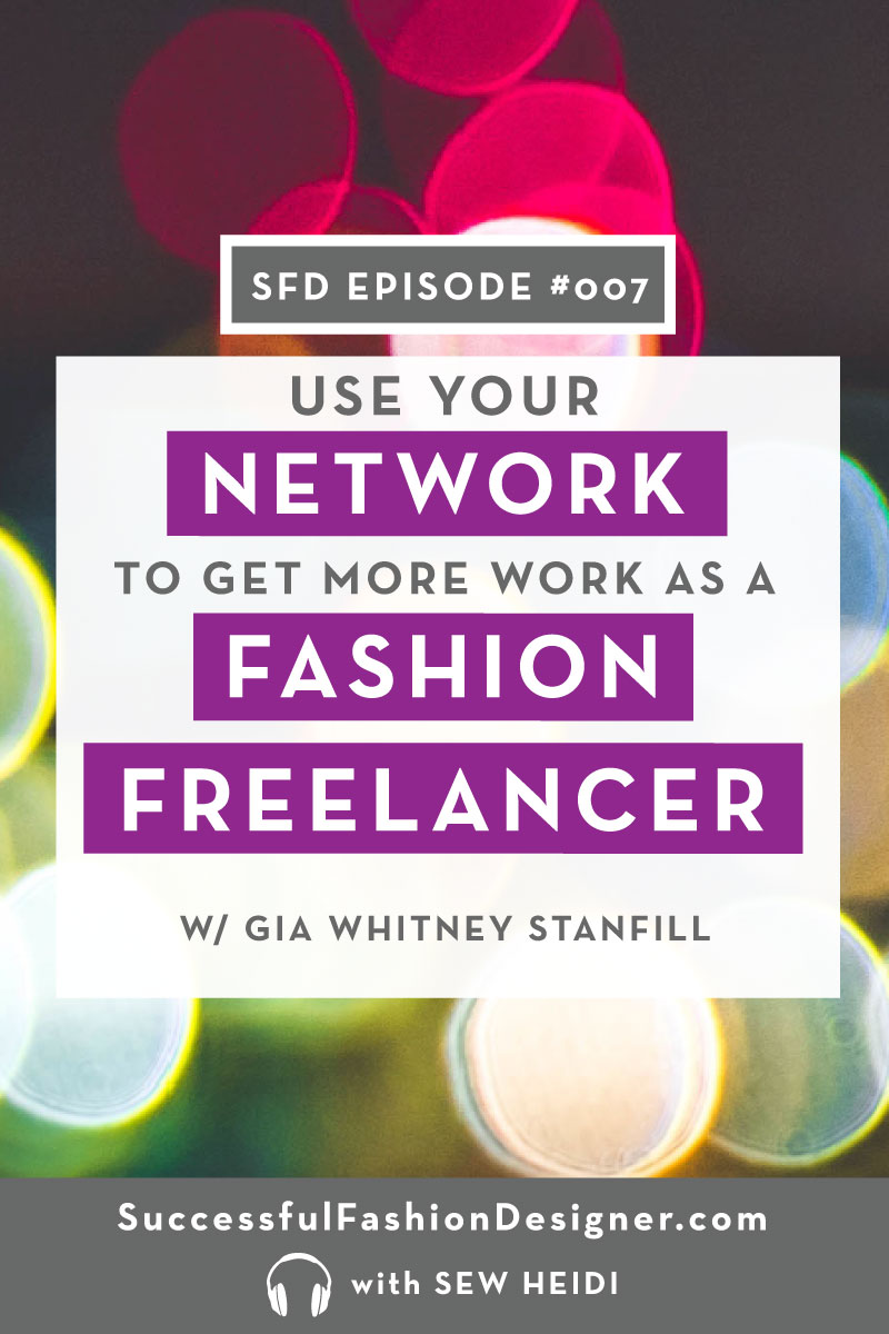Freelance Fashion Career Networking