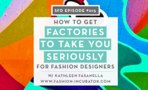 Successful Fashion Designer interview with Kathleen Fasanella by Sew Heidi