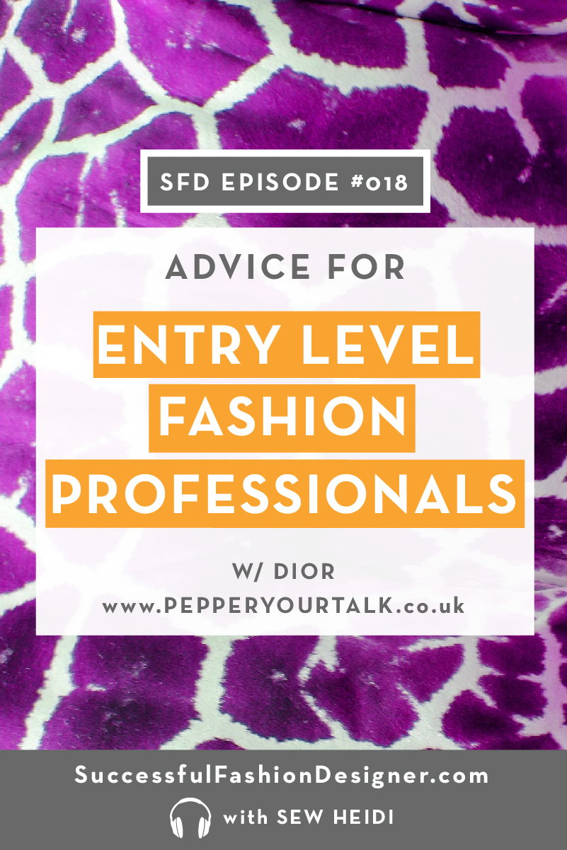 How to Break Into the Fashion Industry with no Experience