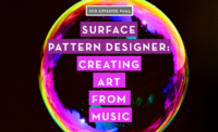SFD065 How This Surface Pattern Designer Creates From Music