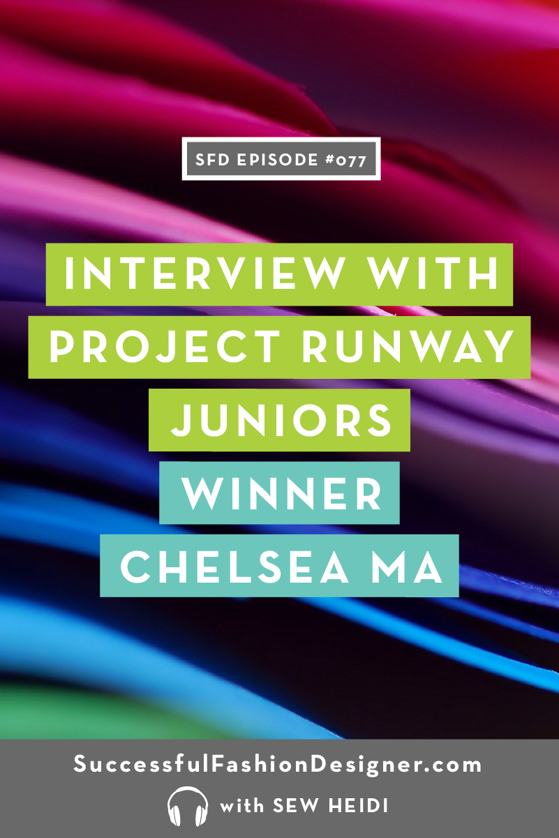 077 project runway chelsea maPIN