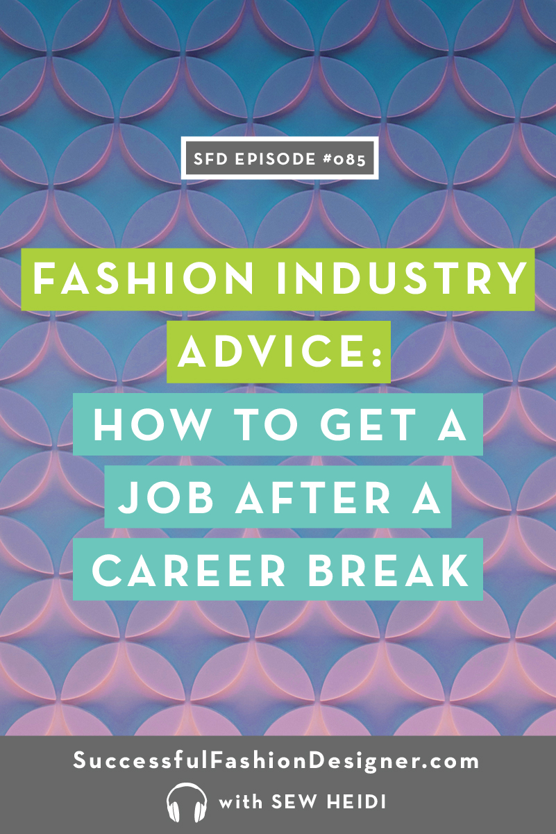085 fashion career breakPIN