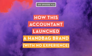 How this accountant launched a handbag brand with no experience