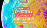 How this powerlifter launched a muscular men's clothing line