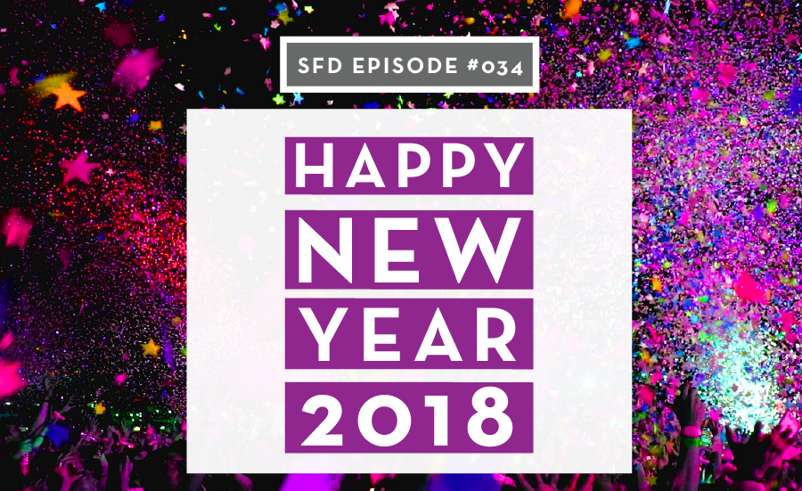 Happy New Year 2018 from Successful Fashion Designer + Sew Heidi