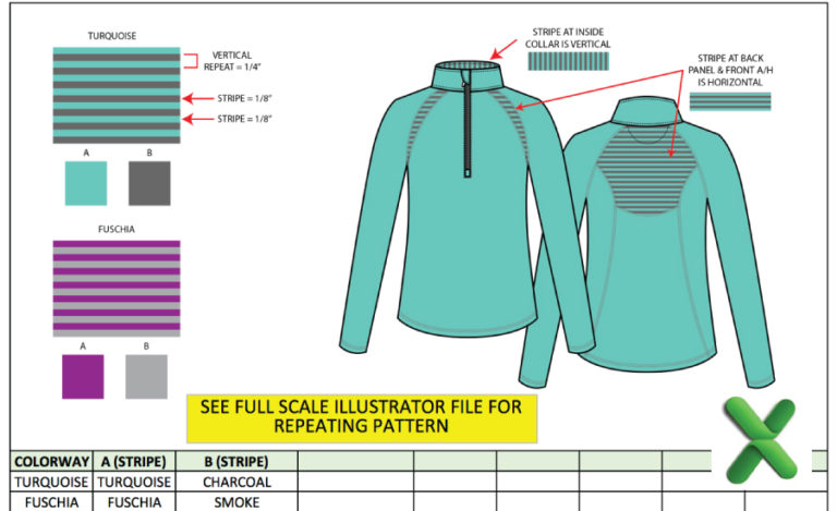 Tech Pack, Spec Sheet & Graded Spec Tricks for Fashion Designers using Adobe Illustrator & Microsoft Excel: The Successful Fashion Designer, tutorial by Sew Heidi