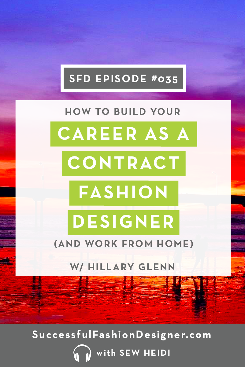Contract Fashion Designer Career