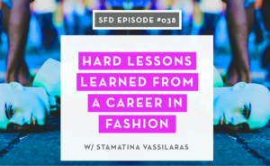Fashion Career Lessons