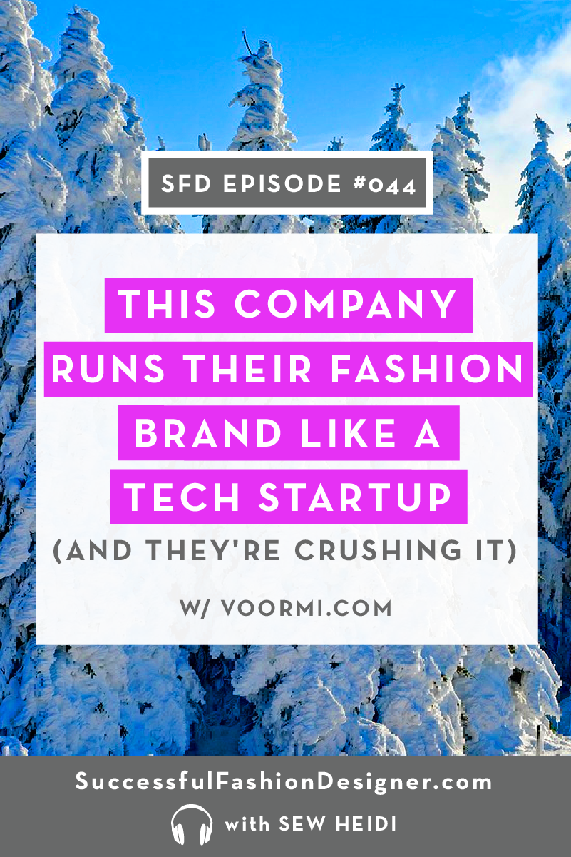 Fashion Brand like a Tech Startup