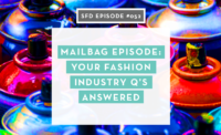 Successful Fashion Designer Podcast with Sew Heidi