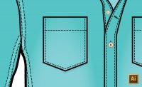 Average and Join Points in Illustrator to Draw a Pocket Tutorial by {Sew Heidi}
