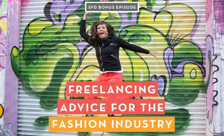 freelancing advice for the fashion industry