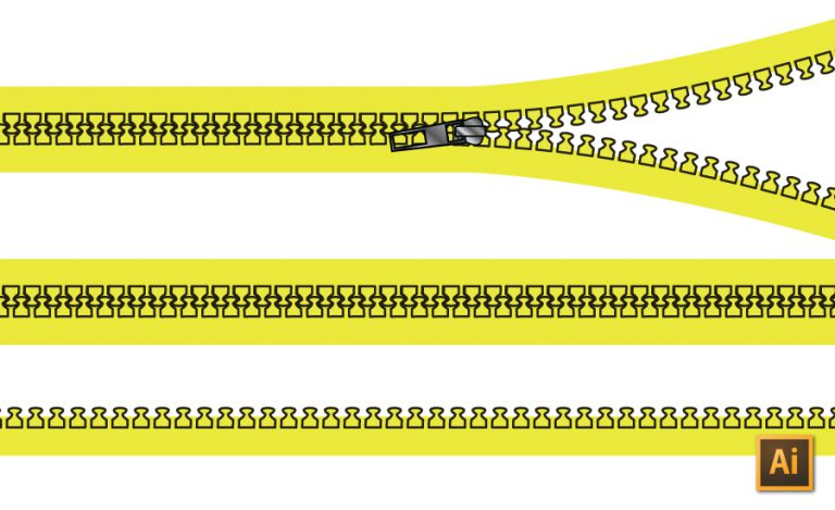 Create a Zipper Tooth Pattern Brush Tutorial by {Sew Heidi}