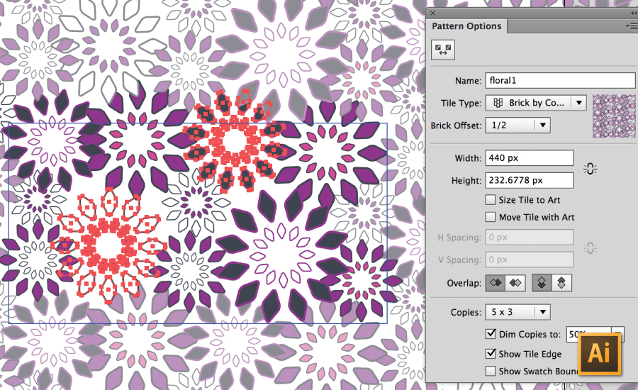Creating Repeating Textile Patterns In Illustrator CS60 Newer Magnificent Illustrator Patterns