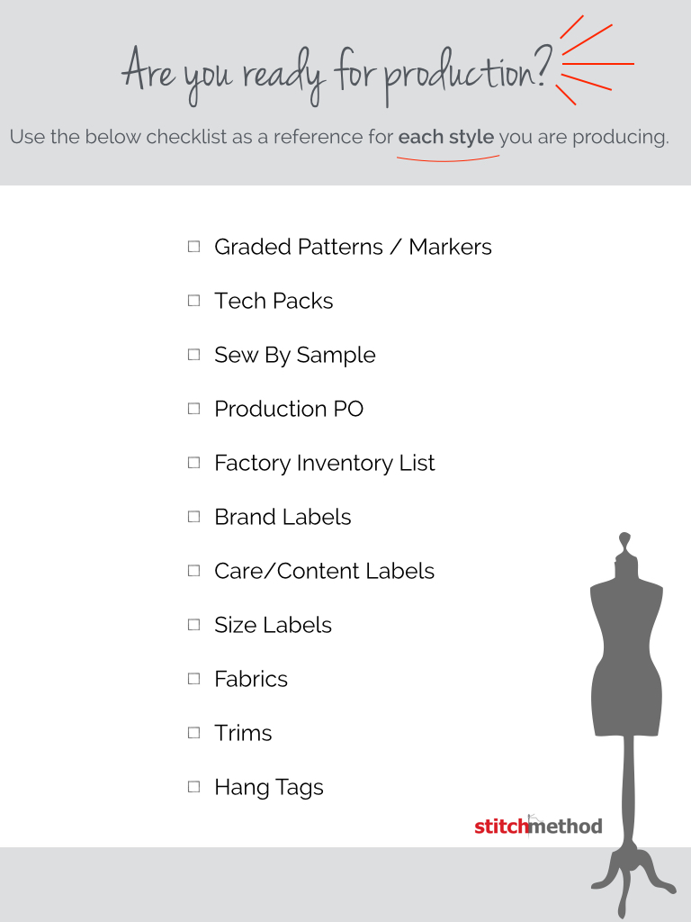 Fashion Design Production Checklist For Manufacturing Successful Fashion Designer Podcast Interview With Abbie Ellis Of Stitch Method By Sew Heidi Courses Free Tutorials On Adobe Illustrator Tech Packs Freelancing