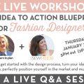 Sew Heidi / Gretchen Harnick: Free Live Workshop for Fashion Designers