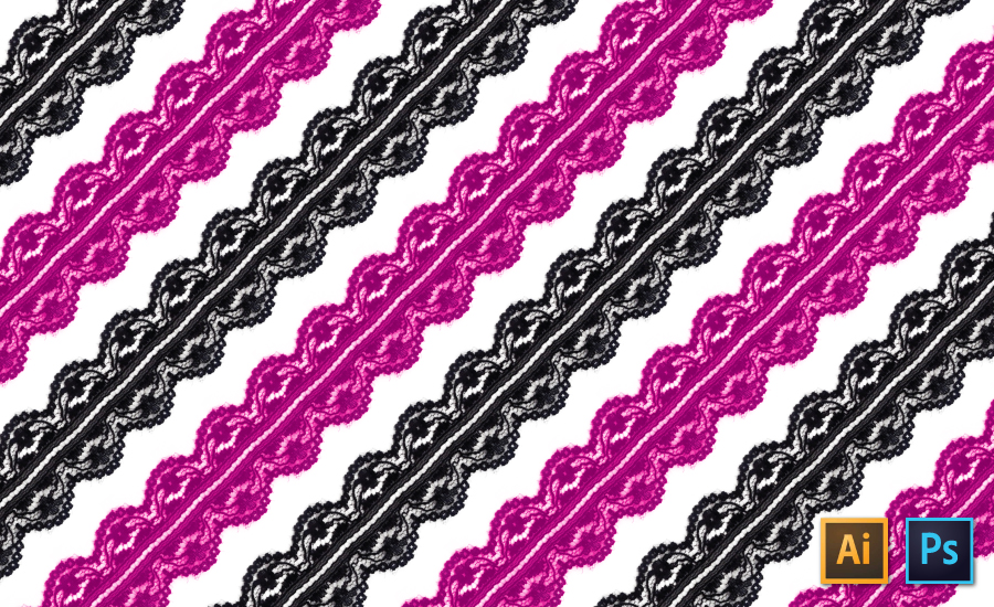 How to Create a Lace Trim Pattern Brush in Illustrator: The Successful Fashion Designer by {Sew Heidi}