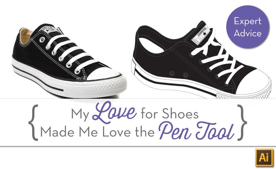 {Sew Heidi} How My Shoe Obsession Made Me Dominate the Pen Tool