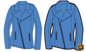 Add Thick Outlines Around Fashion Flats in Illustrator Tutorial {Sew Heidi}