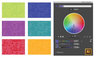 How to Recolor Tonal Pattern Swatches in Illustrator Tutorial by {Sew Heidi}