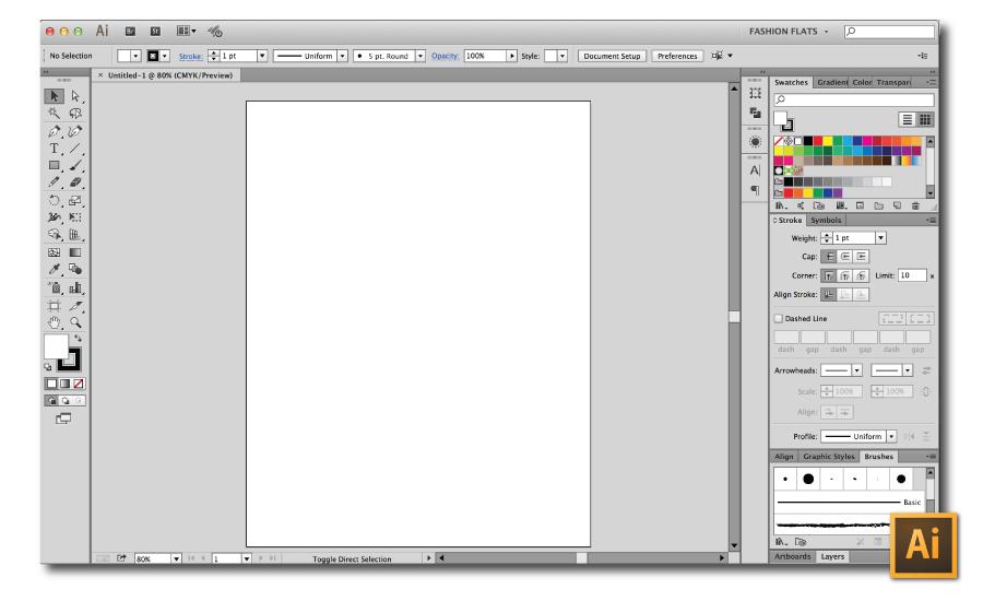 Create Custom Workspaces in Illustrator Tutorial {Sew Heidi}