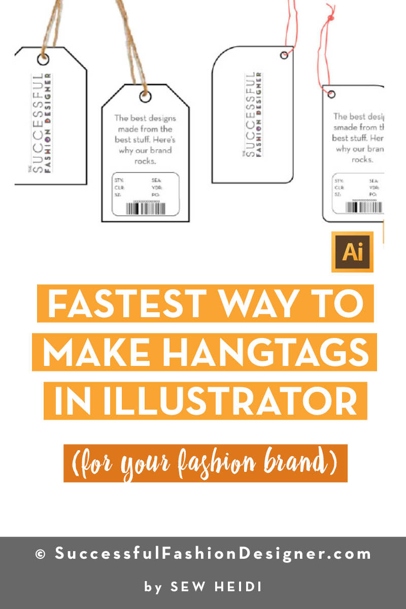 How to Make a Hangtag in Illustrator (and Photoshop)