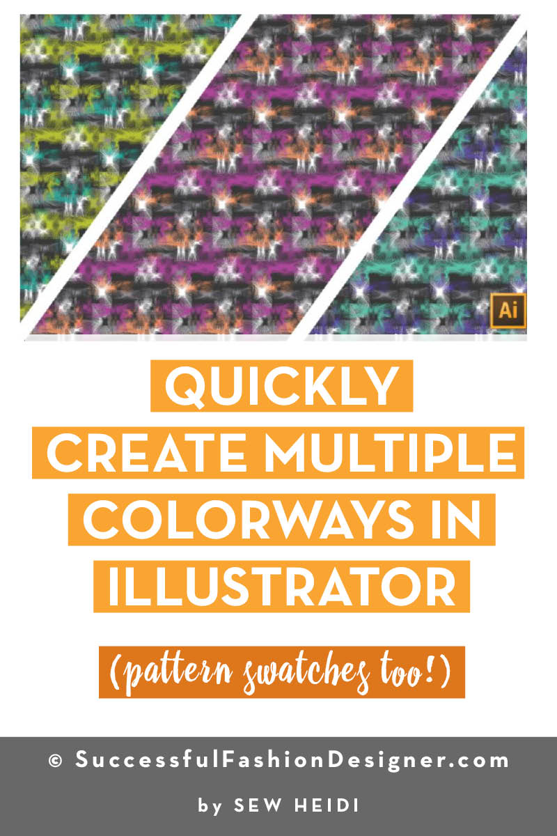 How to Recolor Artwork in Illustrator (pattern Swatches Too!)