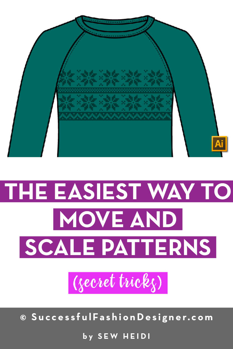How to Move and Scale Patterns in Illustrator