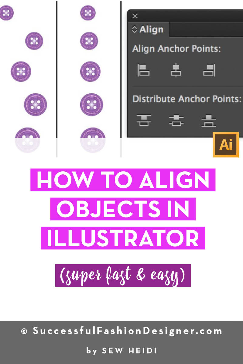 How to Align Objects in Illustrator