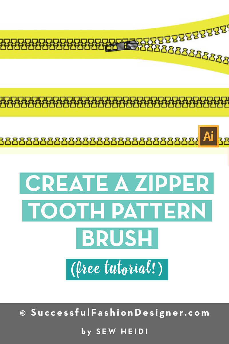 Create a Zipper Tooth Pattern Brush