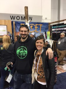 Sew Heidi with Cameron Ferrara, Carve 4 Cancer
