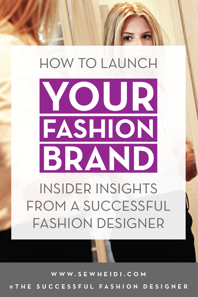 How to Launch Your Fashion Brand / Label: Interview with Successful Fashion Designer Startup Rochelle Behrens by {Sew Heidi}