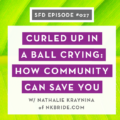 Successful Fashion Designer podcast interview: Nathalie Kraynina Bride with Sew Heidi