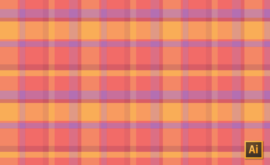 Plaid Repeating Patterns In Illustrator Courses Free Tutorials Beauteous Repeat Pattern Illustrator