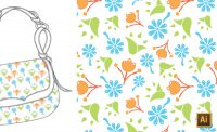 Repeating Patterns in Illustrator (Manually, CS5 & Earlier) Tutorial by {Sew Heidi}