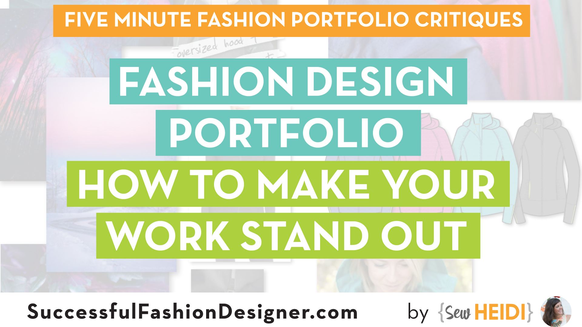 Fashion Design Portfolio Critique How To Make Your Work Stand Out Courses Free Tutorials On Adobe Illustrator Tech Packs Freelancing For Fashion Designers