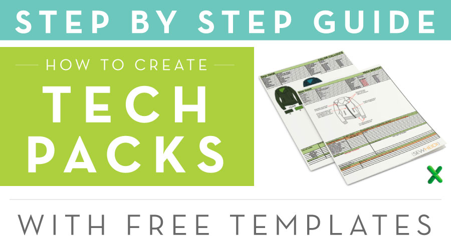 Tech Packs Step by Step, with Free Templates