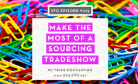 Make the Most of Your Fashion Sourcing Trade Show Visit: Successful Fashion Designer interview with DG Expo + Sew Heidi