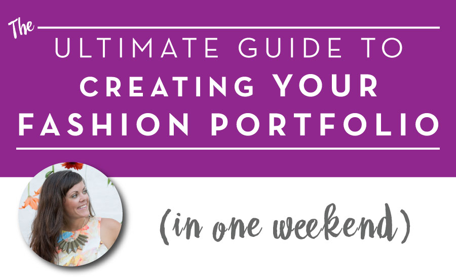 What And How Much To Include In Your Fashion Design Portfolio Courses Free Tutorials On Adobe Illustrator Tech Packs Freelancing For Fashion Designers Courses Free Tutorials On