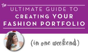 Fashion Designer Portfolio Book by Sew Heidi