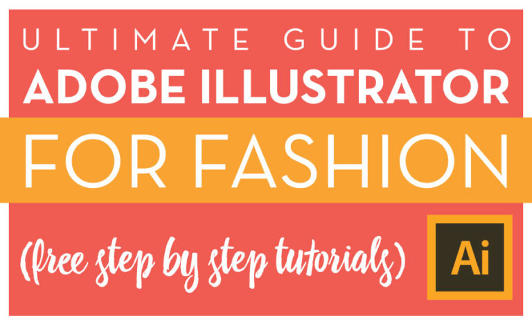 Adobe Illustrator for Fashion Design Free Tutorials