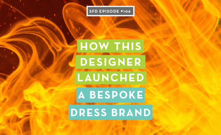 How this designer launched a bespoke dress brand