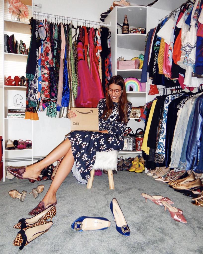 Caroline Vazanna Closet