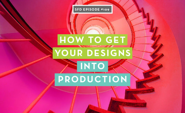 How to get your fashion designs into production