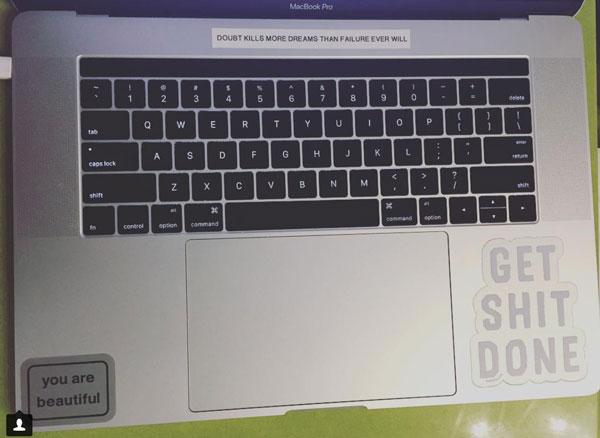 Sew Heidi's MacBook Pro Computer