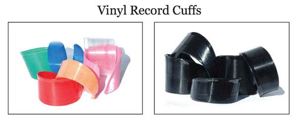 Funklectic Sew Heidi Vinyl Record Cuffs