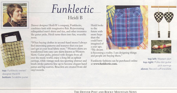 Funklectic Sew Heidi in Denver Post