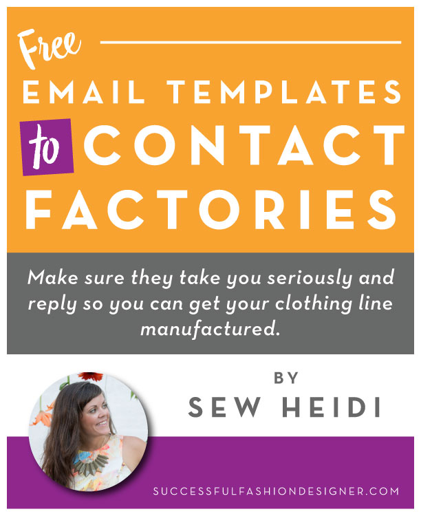 Free Email templates to contact factories
