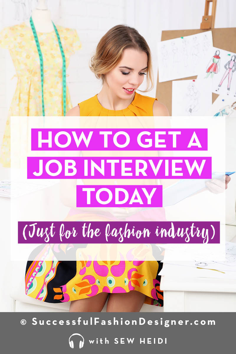 Career Advice for Entry Level Fashion Industry Jobs